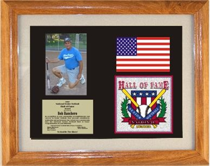 Picture of Hall of Fame Custom Frame Award