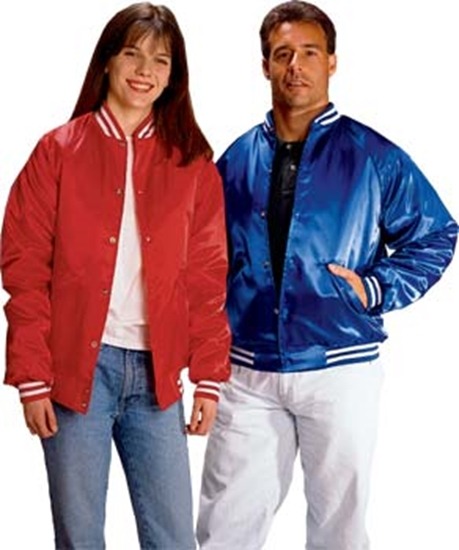 Picture of Satin Quilt-Lined Jacket
