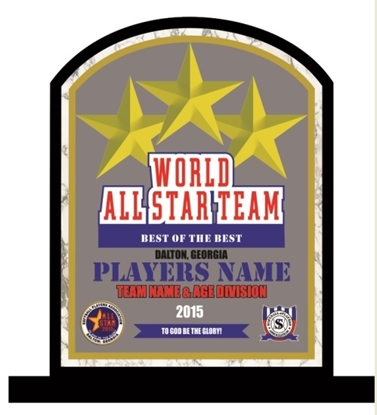 Picture of All-Star Custom Stand-up Award