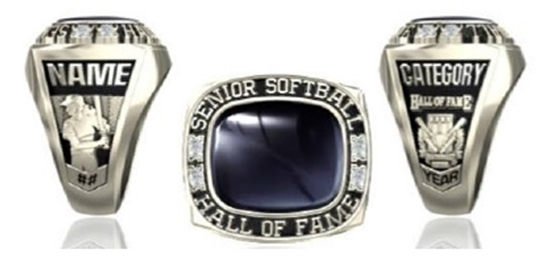 Picture of NSSHOF Women's Ring or Pendant w/Plain Stone